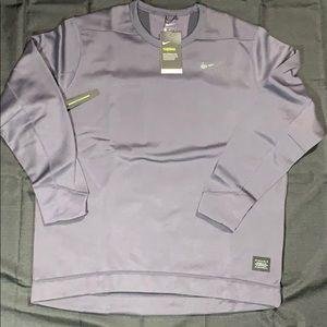 Nike Men's Therma Repel Golf Top Crew XL Gridiron